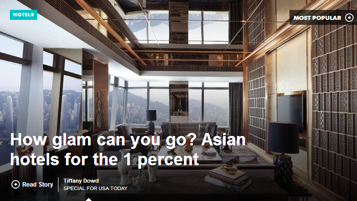 How glam can you go? Asian hotels for the 1 percent