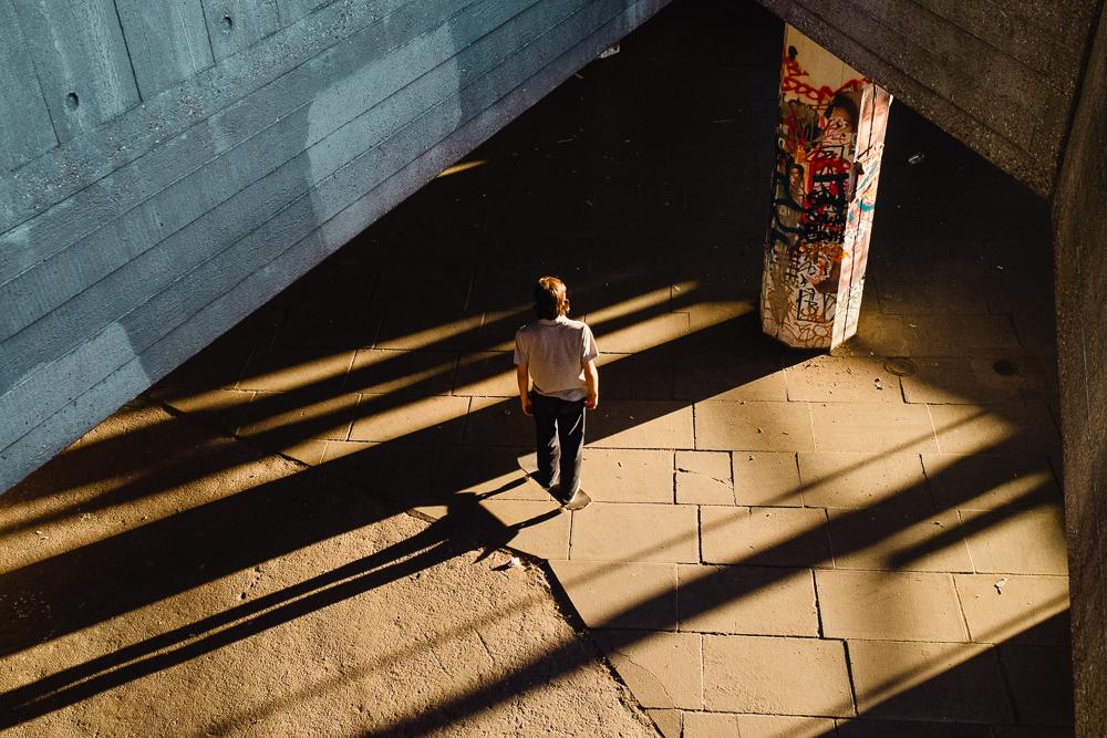 Skater, Southbank, London © Andrew Newson