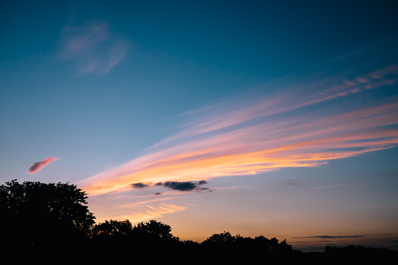 Good sky.