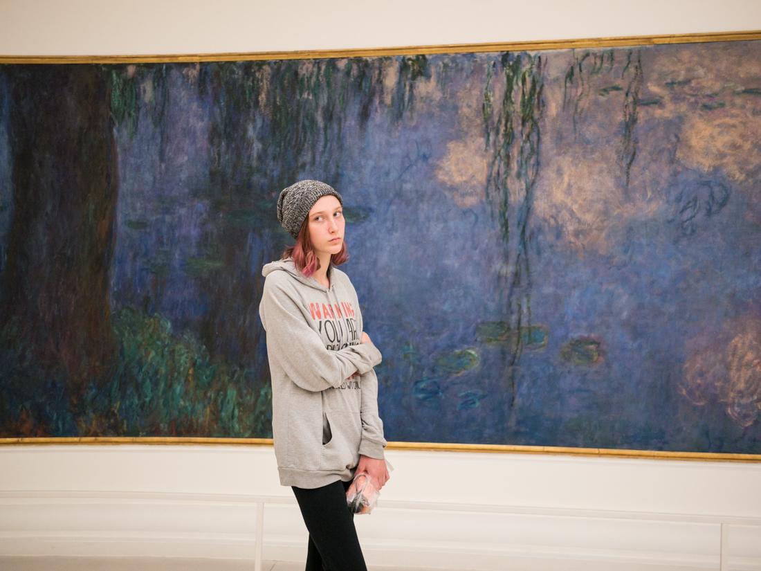 Orangerie Gallery, Paris, Apr 2016 - © Angelo Gifford