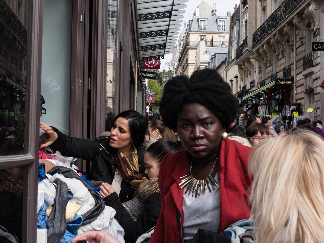 No nonsense - near Sacre Coere, Paris, Apr 2016 - © Angelo Gifford