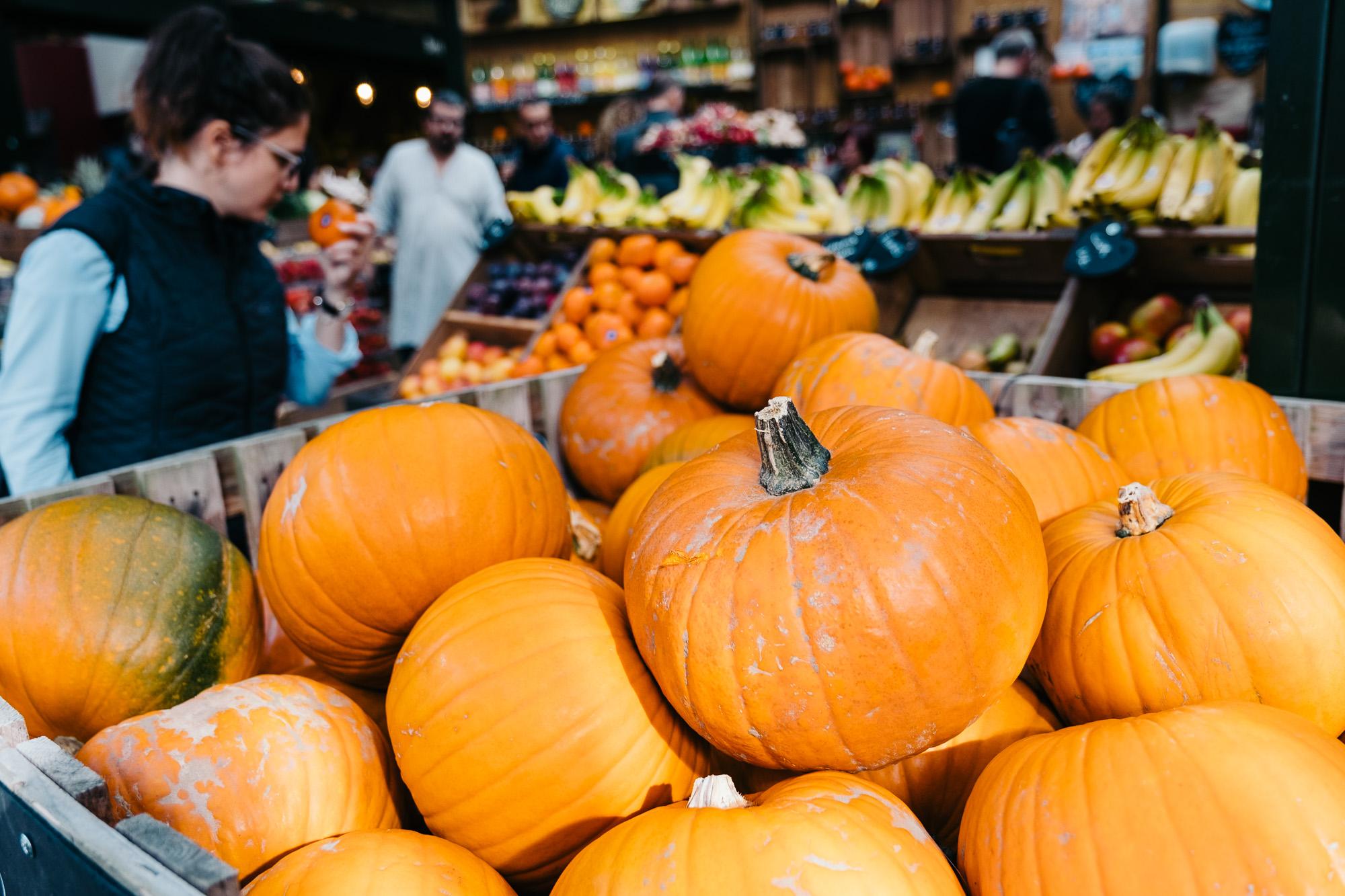 Pumpkins at Borough Market © Andrew Newson