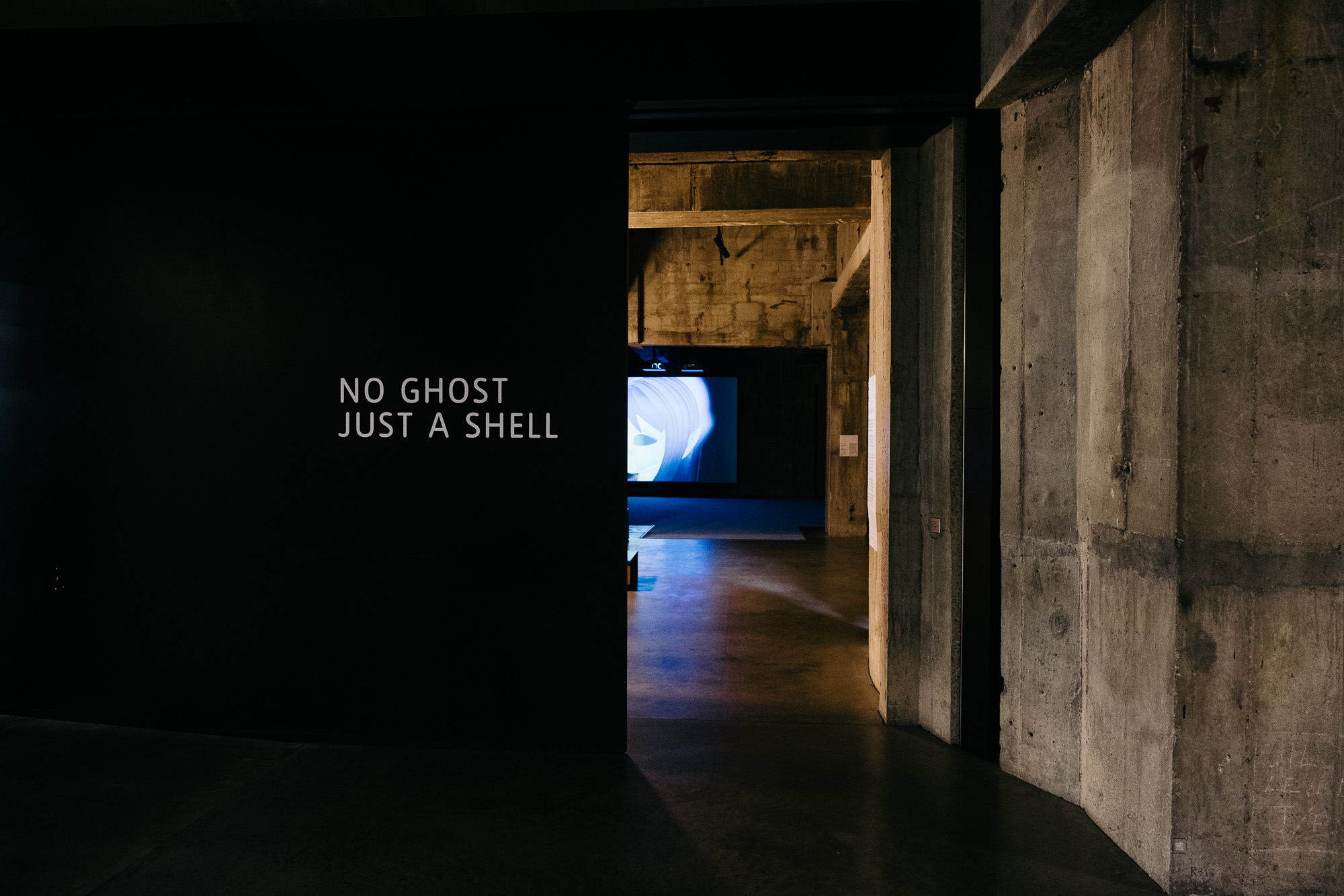No Ghost Just A Shell Exhibit © Andrew Newson