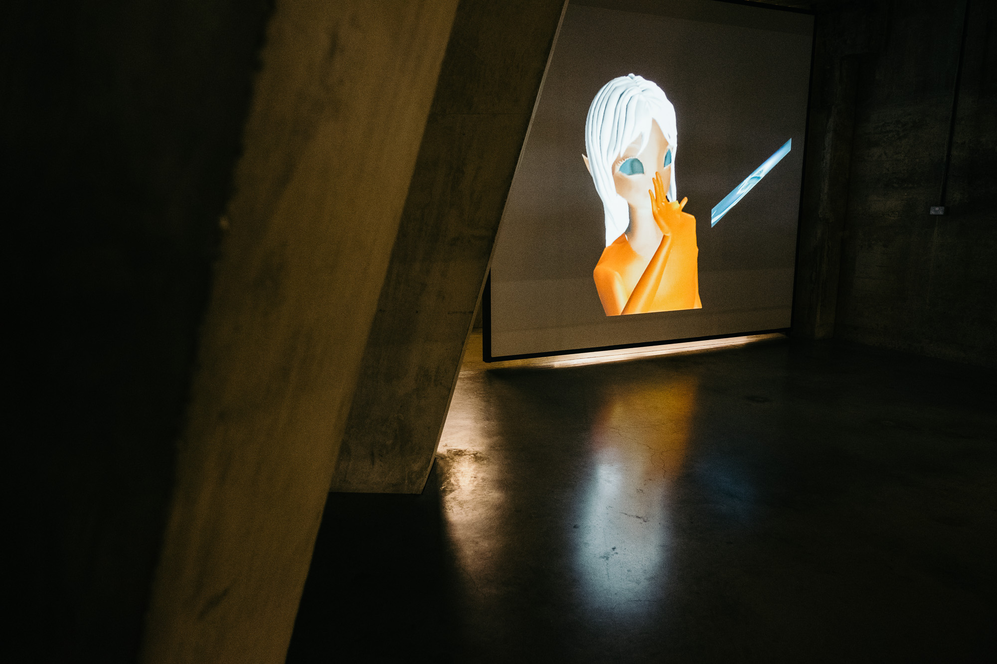 No Ghost Just A Shell Exhibition - Photo © Andrew Newson