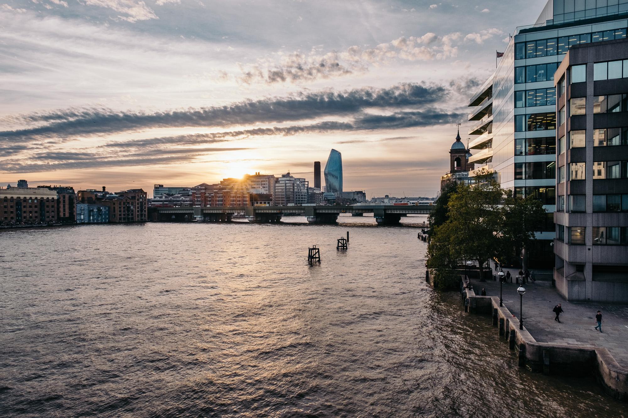 View from London Bridge © Andrew Newson