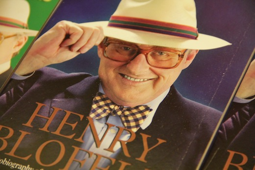 Lunch with Henry Blofeld