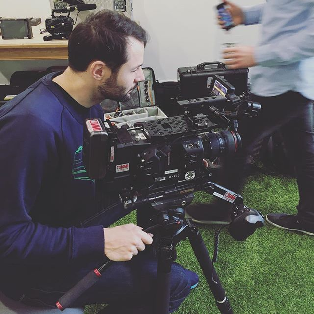 Mr Alex setting up this mornin for some 160fps #ovoenergy #ovoadventures #deckchairproductions