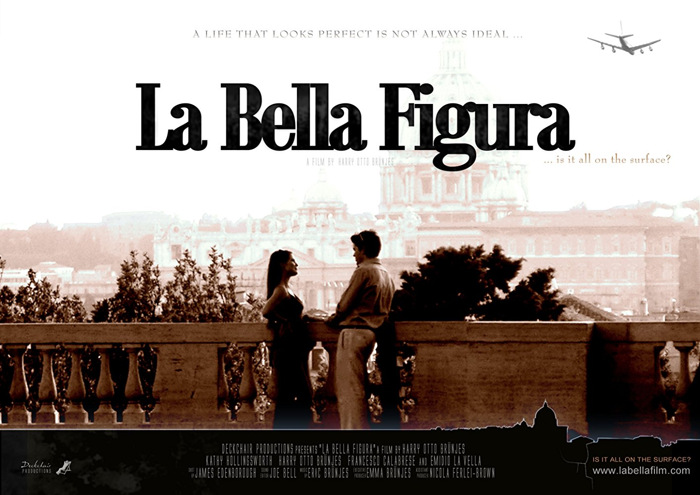 La Bella Figura Movie DVD