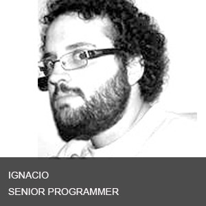 Ignacio is an experienced developer with more than ten years developing complex platforms based in symphony, MySQL across various programming languages. He has vast experience in Javascript, CSS, HTML, PythonLinux, MacOS, WindowsCSS3 Animations with interactive content, Multitouch InterfacesNodeJS, MongoDB and Redis for backend signage Core.  He has founded two programming studios collaborating in the education and taxation sectors for the Argentine Government.