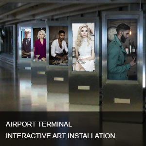 airport interactive art