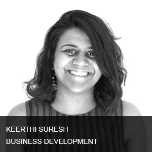 Keerthi has over 7 years of diverse production and managerial experience working in Advertising,TV & Film Industry. She has liaised directly with clients and managed creative teams to deliver strong, engaging content and established lasting business partnerships for brand accounts such as CocaCola,Sony, Nike etc. Her responsibilities include overseeing the production and delivery of commercials for world-wide distribution. As she transitions from active advertising production to business development, she will be joining the-Otherside to concentrate of strategic positioning and market placement for their high-end digital content.She will be directly handling client relationships as well as further positioning the firm to highlight the quality of their content.