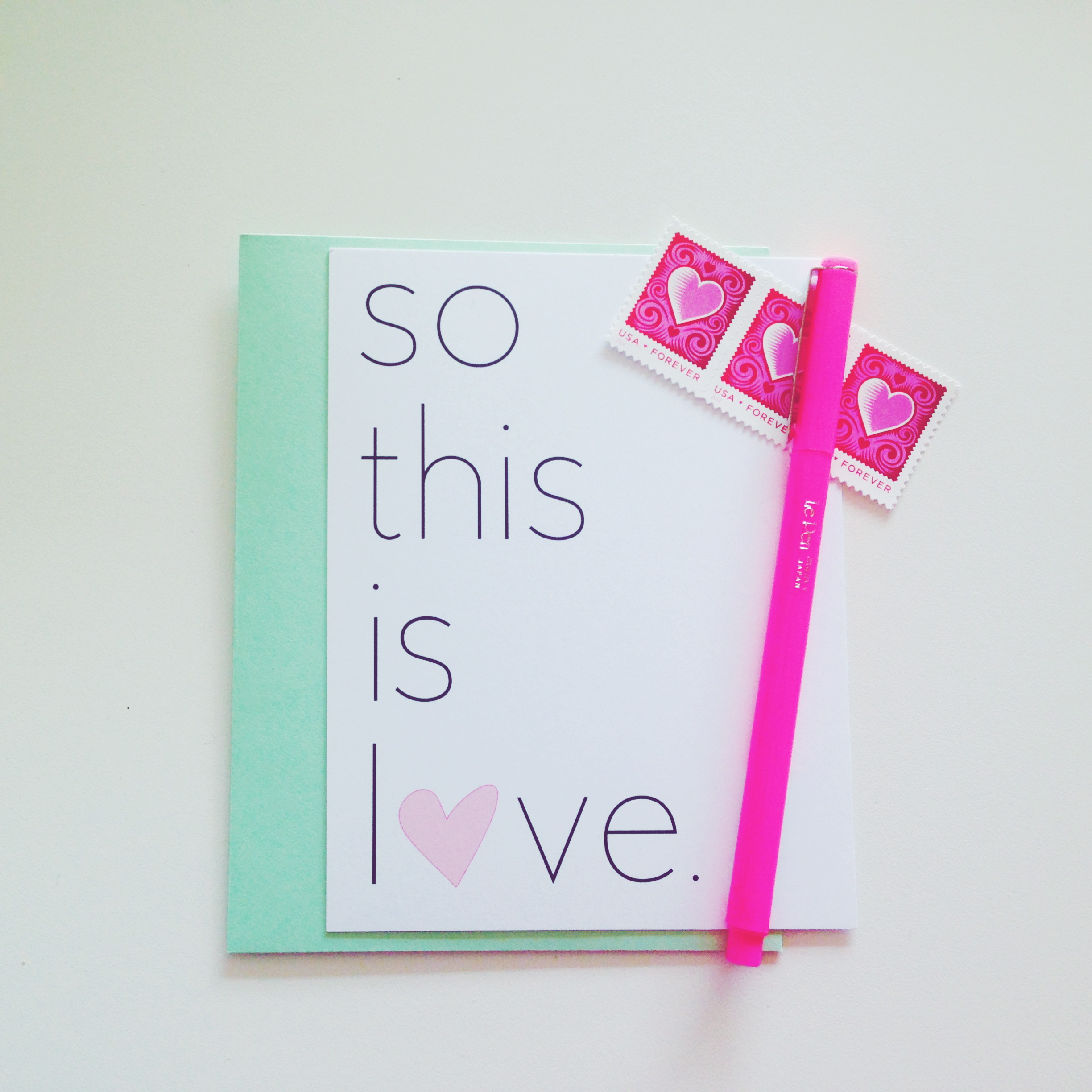 so this is love notecards the lovingkind