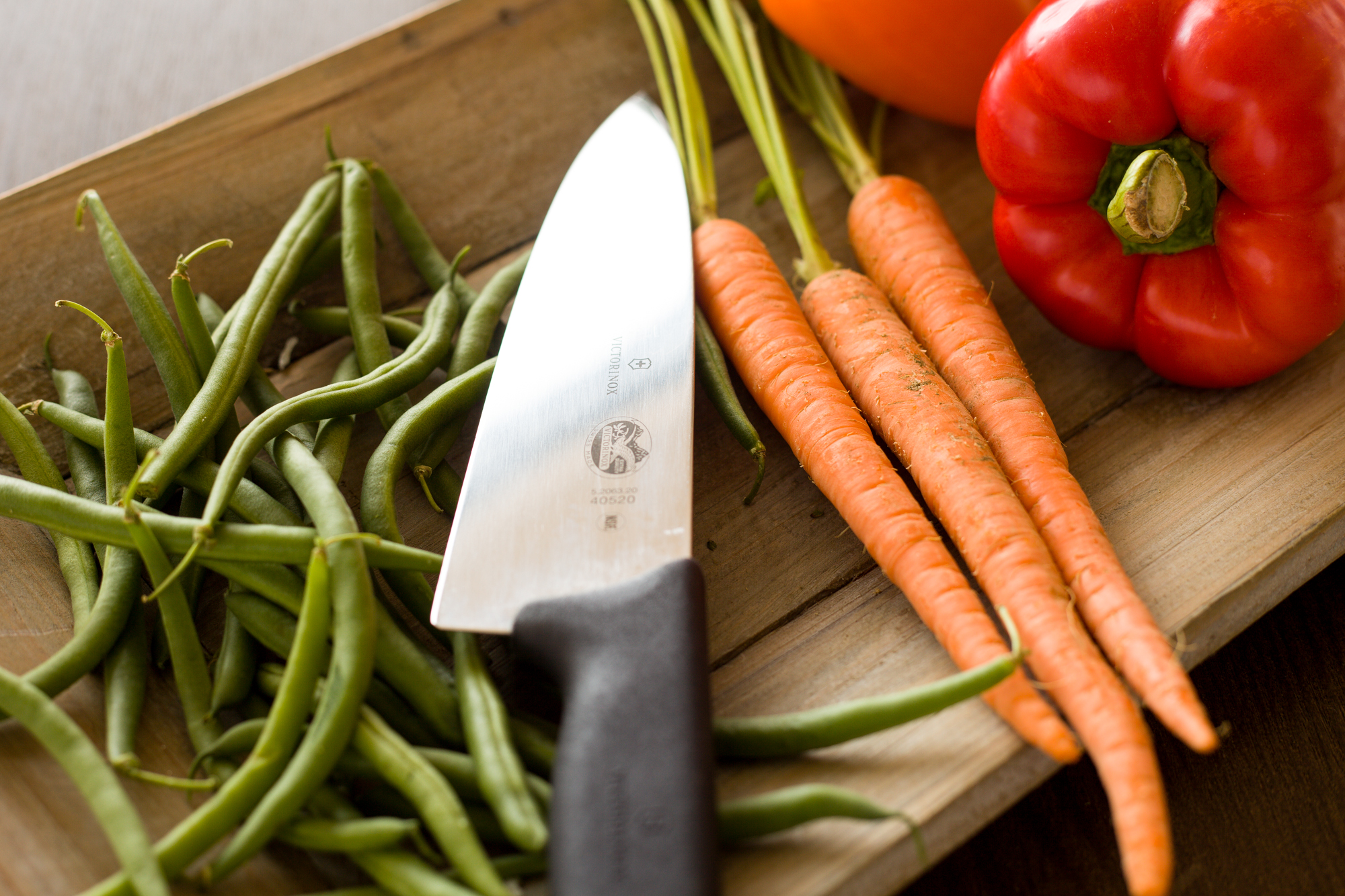 the lovingkind and luv cooks chef's knife
