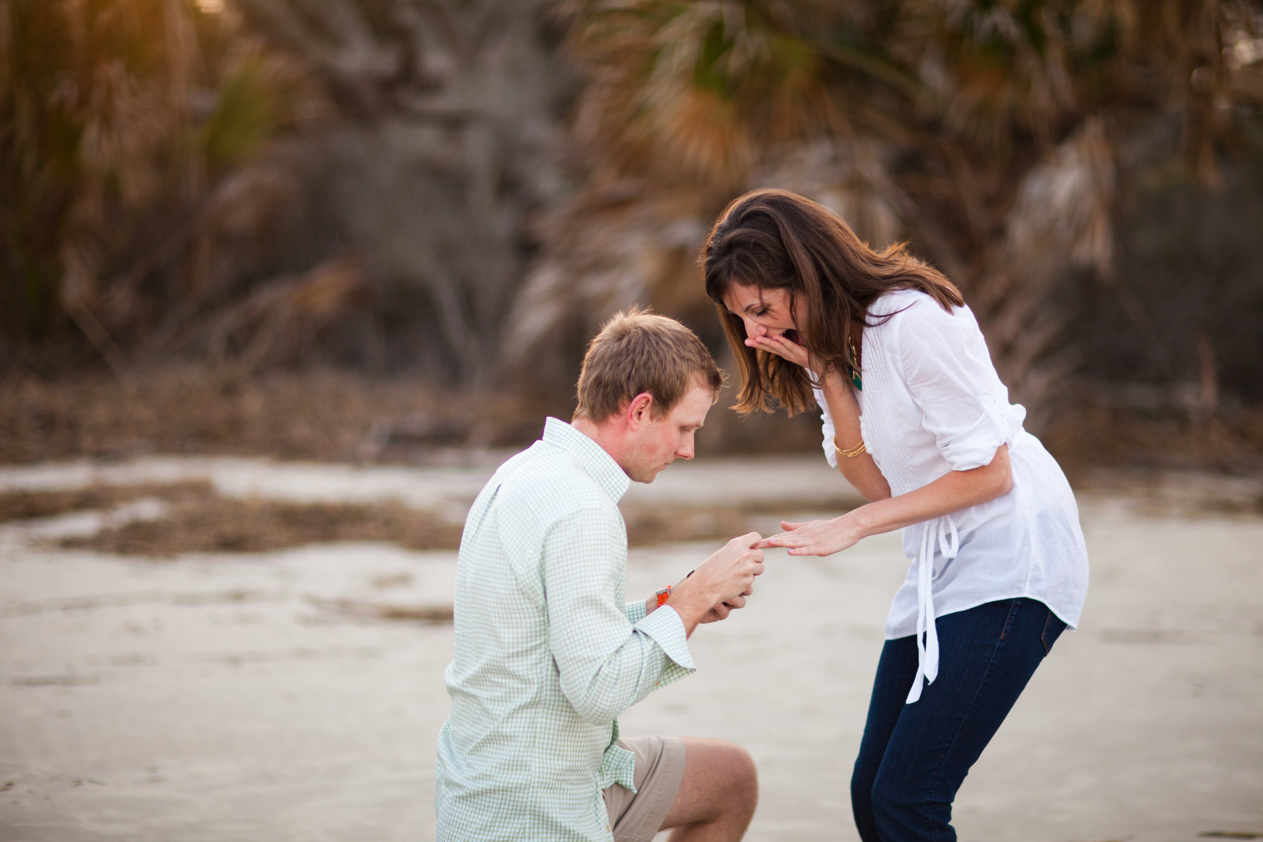 Woody surprises me with the most beautiful proposal on Jekyll Island, Georgia| March 2012    Sarah DeShaw Photography