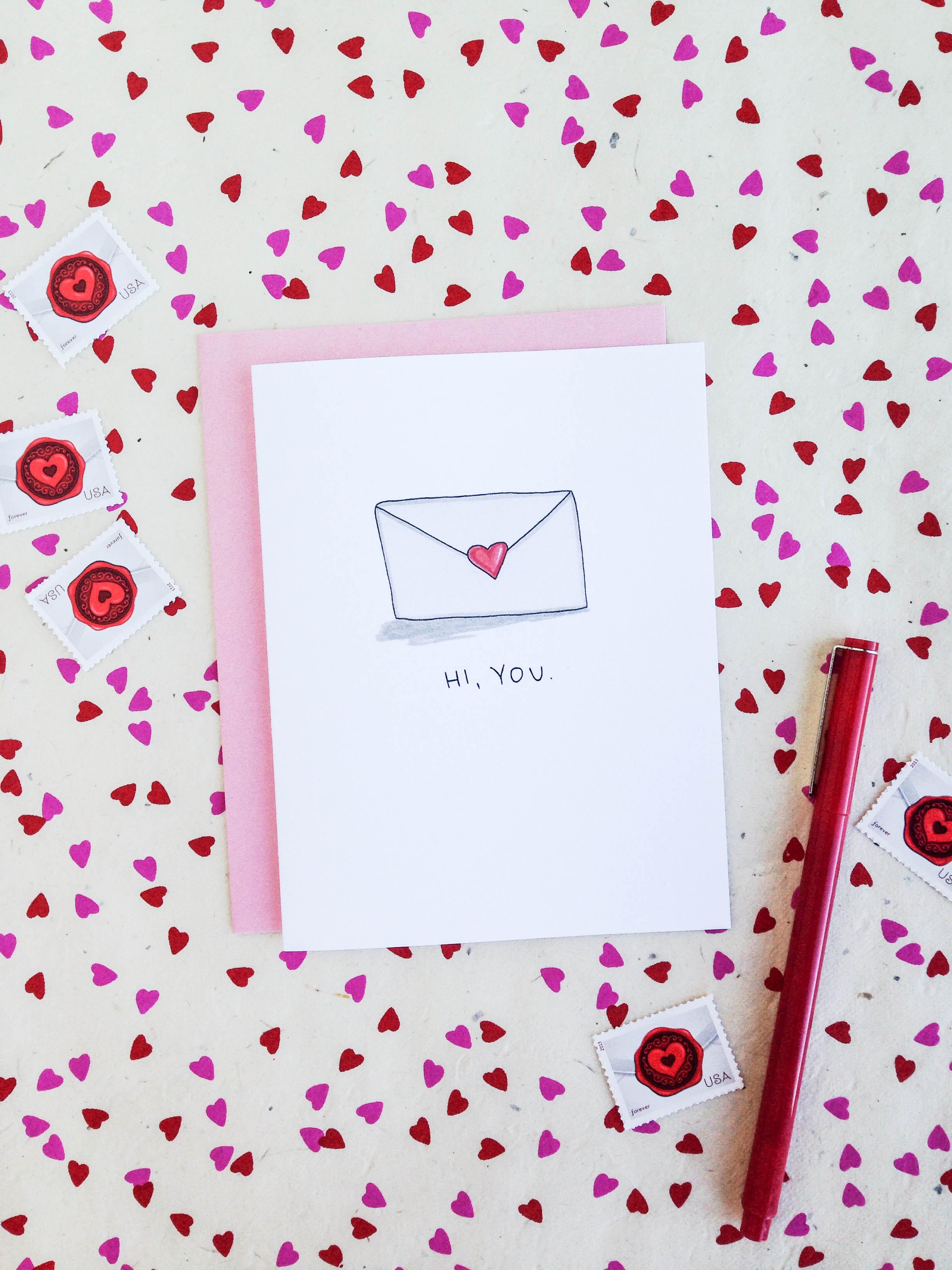 Hi, You. Card