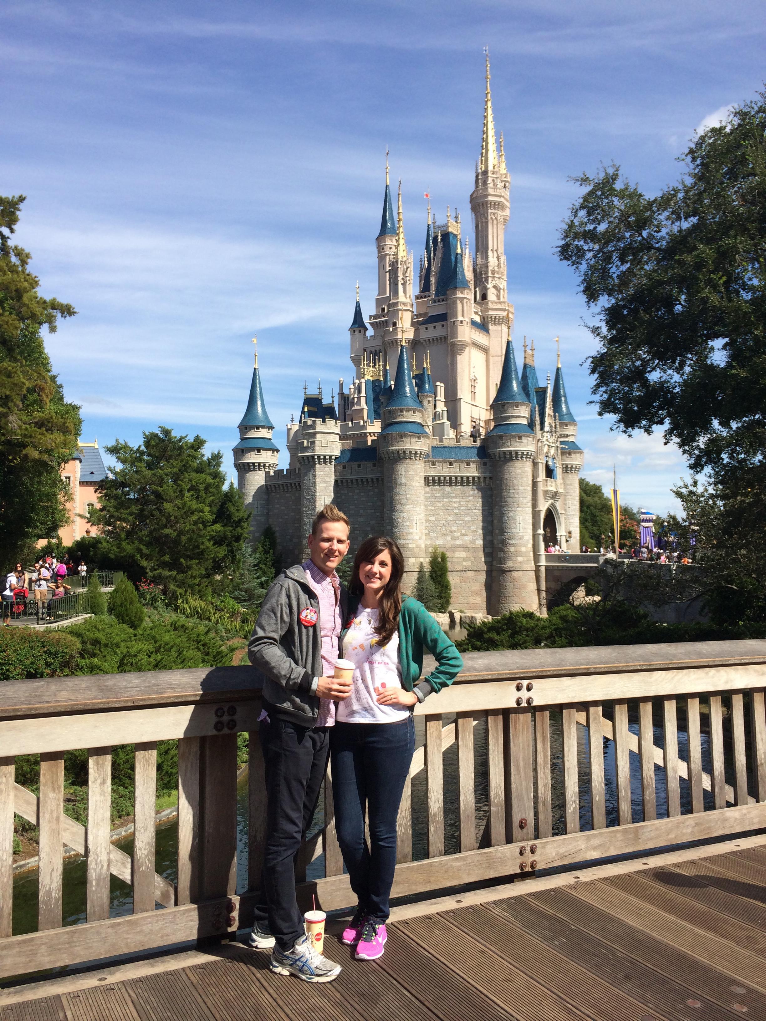 Enjoying the Magic Kingdom!