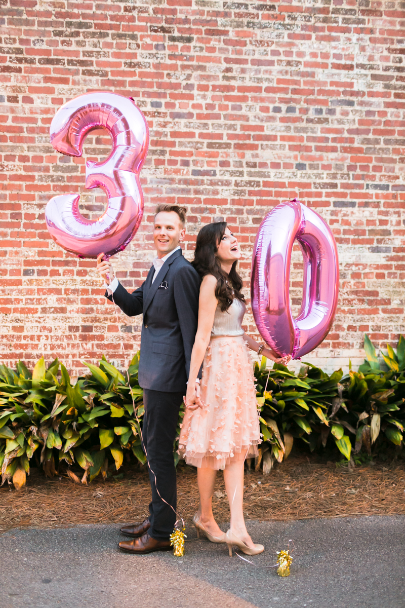 My 30th birthday was such a special celebration. I loved having  Mary Margaret  there to capture the evening!