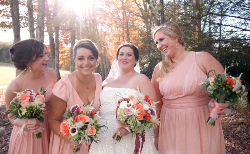 Then, I got to be part of another great wedding weekend with my beautiful friend Mary in October!
