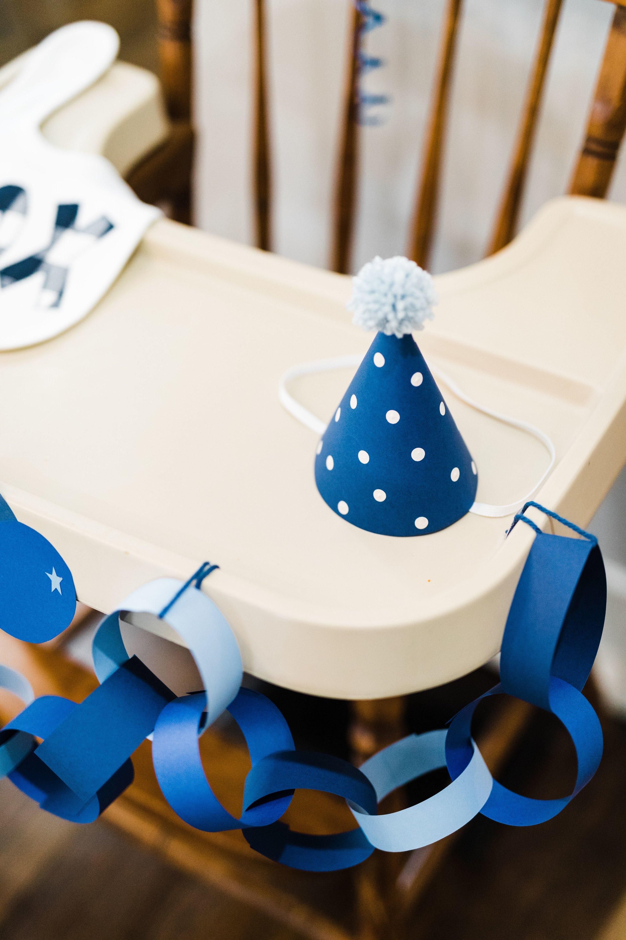 Kids birthday DIY party hat