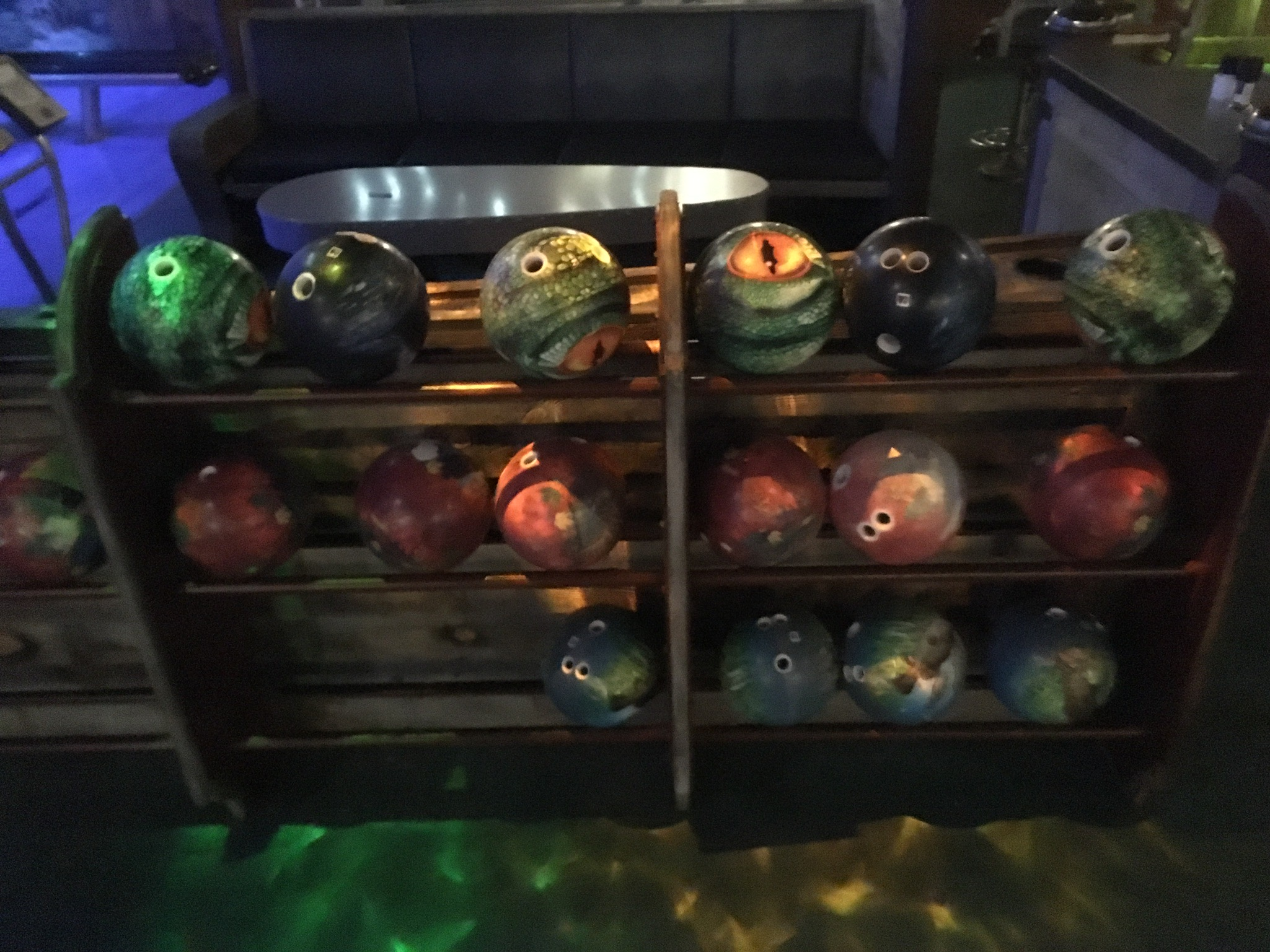 Even the balls are themed!