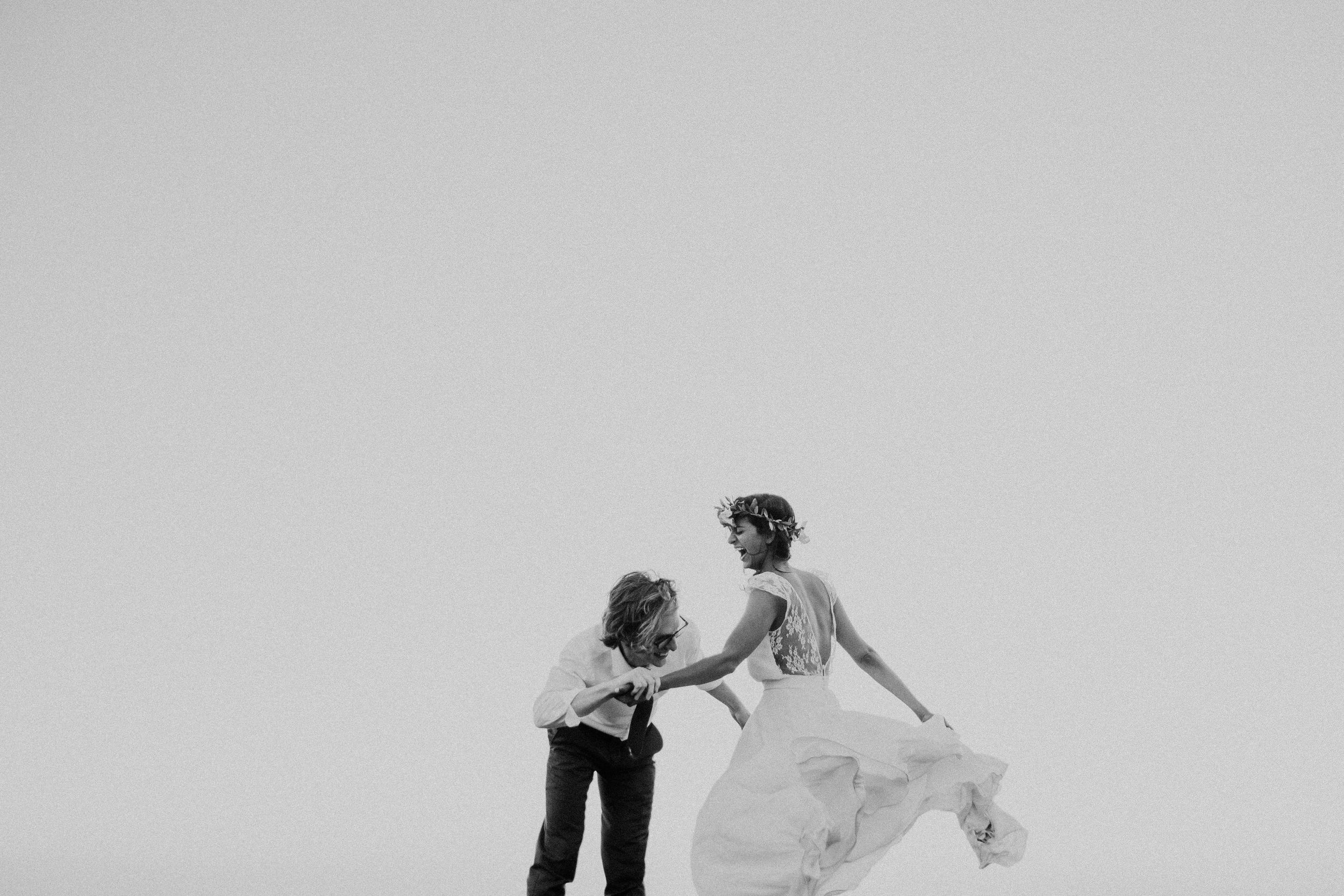 wedding portrait at marin headlands center for the arts