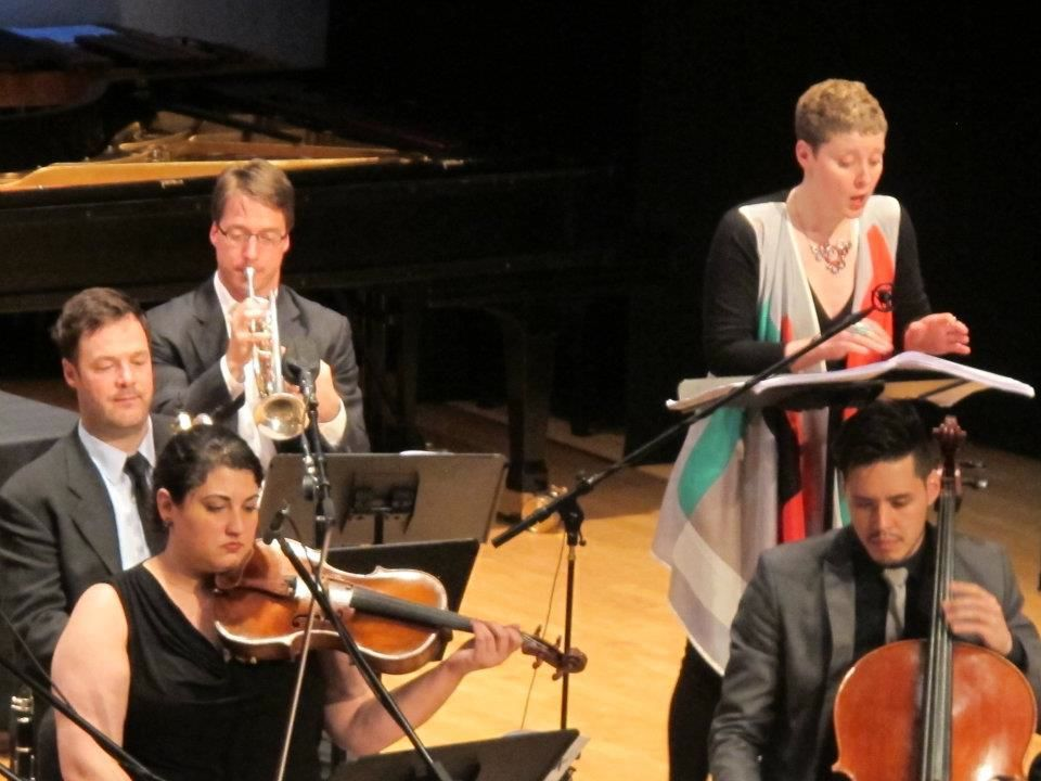 Aperghis: Shot in the Dark . International Contemporary Ensemble, New York, 2012.
