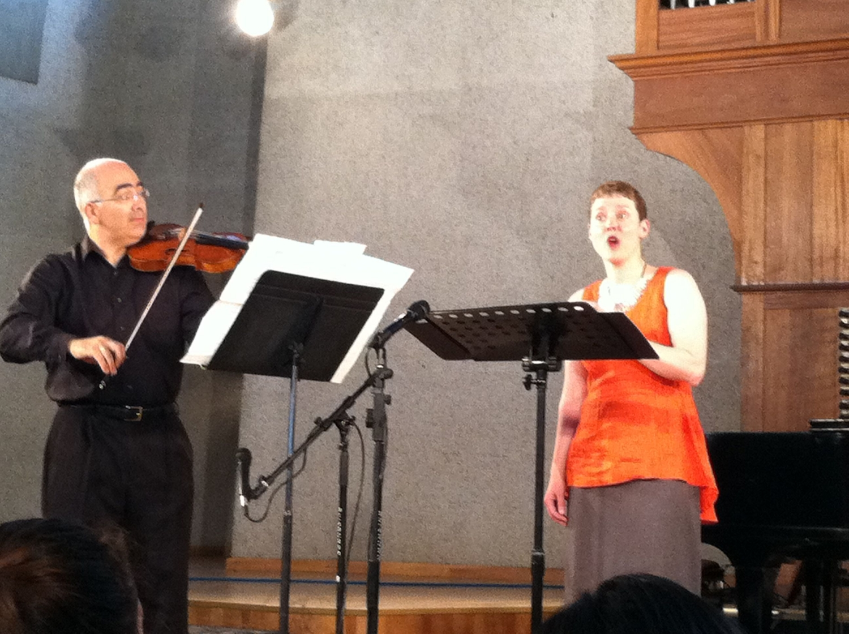 Movses & Tony in Yerevan, Armenia, 2013
