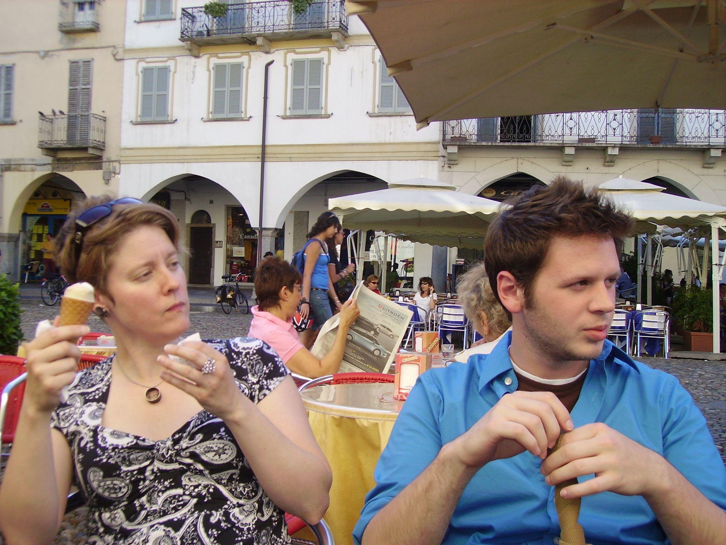 Tony & Kurt Isaacson, Pavia 2008