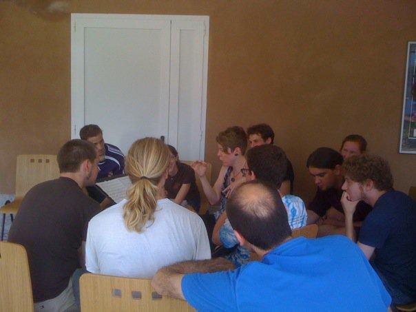 Composer workshop at soundSCAPE, 2010
