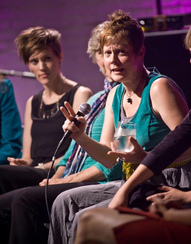 Roundtable discussion at Resonant Bodies Festival, 2013