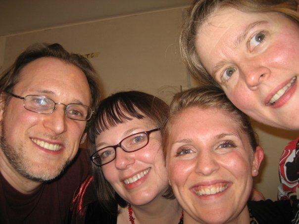 Dan Lippel, Jenece Gerber, Amanda DeBoer, and TA at our ICETank show in NYC
