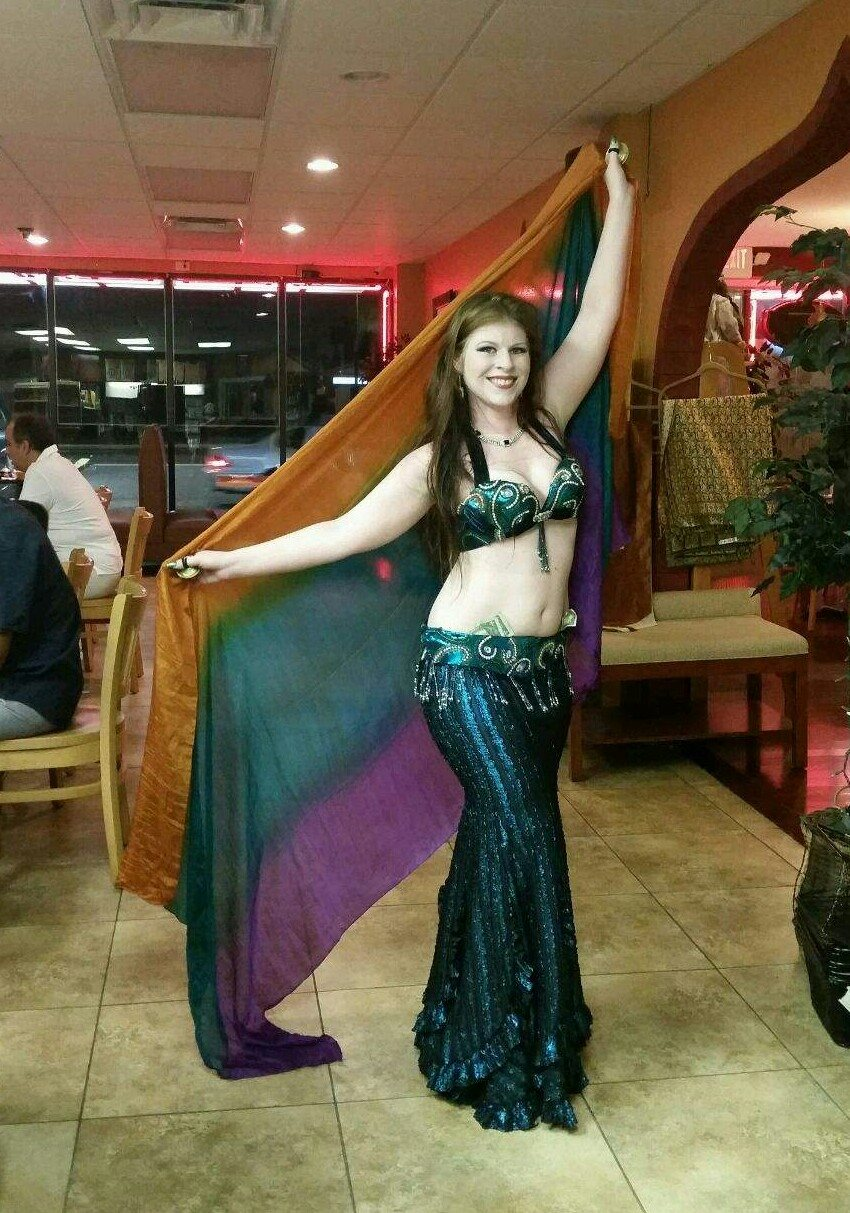 Amani Maharet, a regular bellydancer @ Persia House of Kabobs in Tampa, FL.