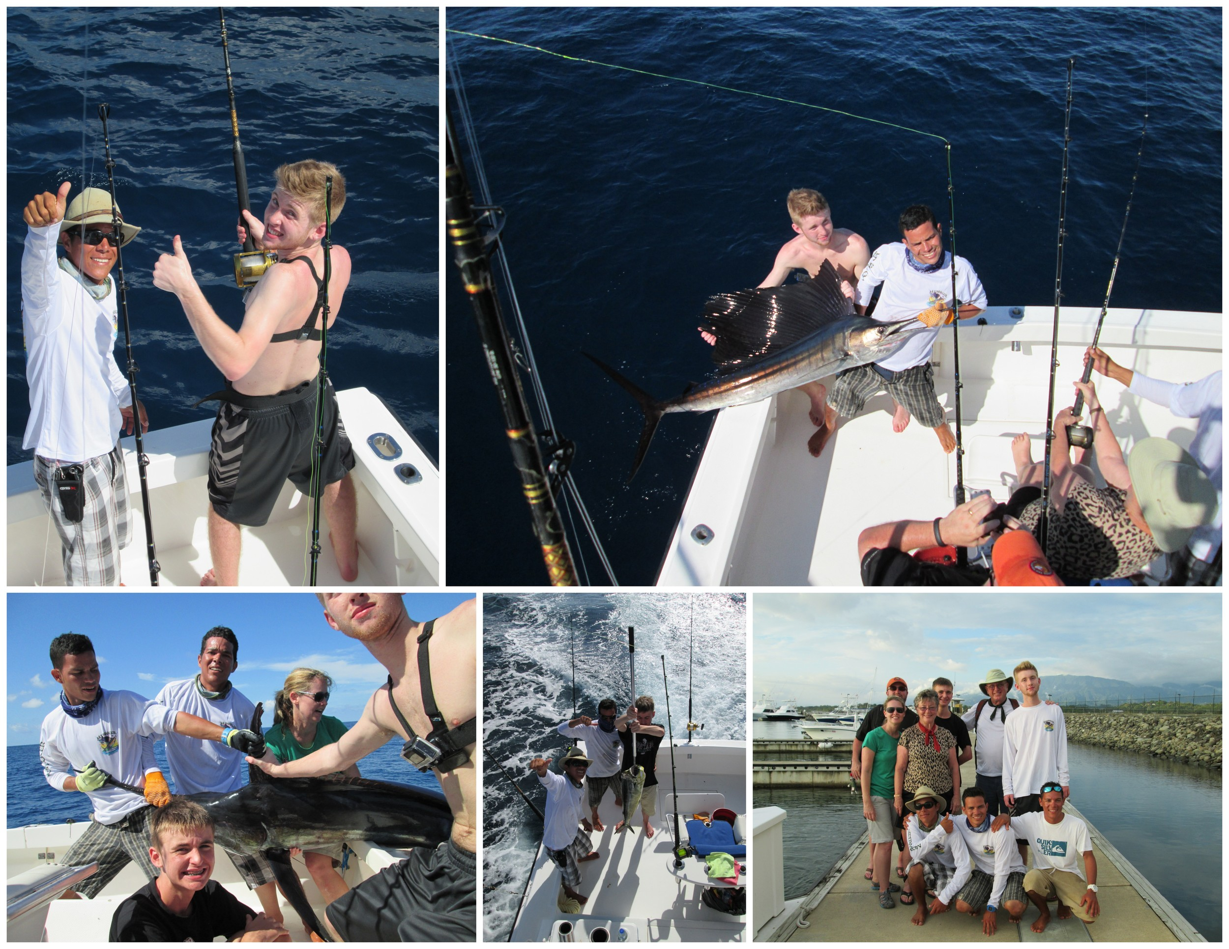 January 2       Chris Huwaldt and his family spent the day offshore and stellar it was for them! Raising 3 Blue Marlin and releasing 2 of them. Release of 3 Sailfish and 1 Mahi Mahi