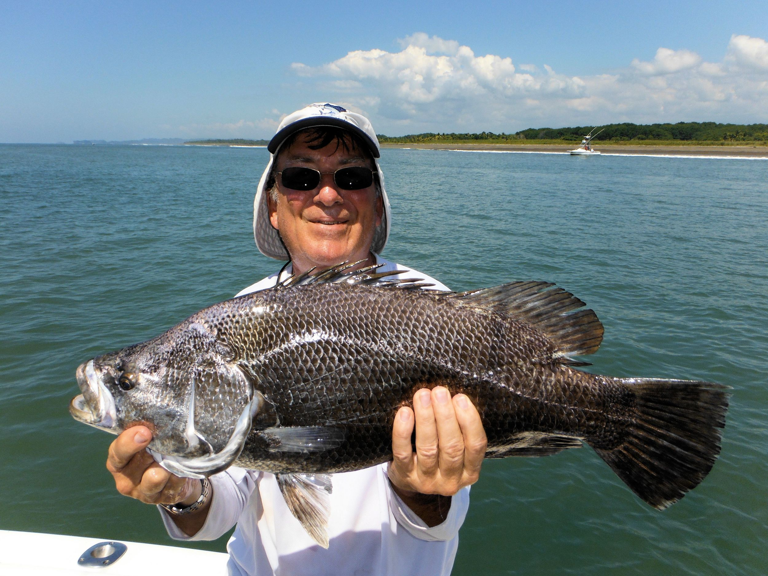 Jerry O'Reilly with a triple tail   Yummy!