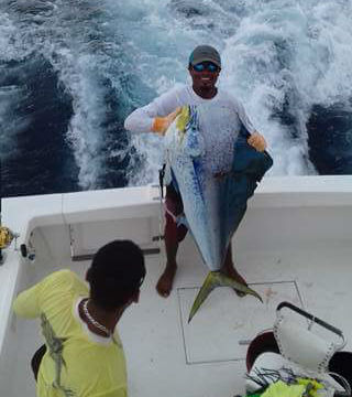 dorado fishing in quepos