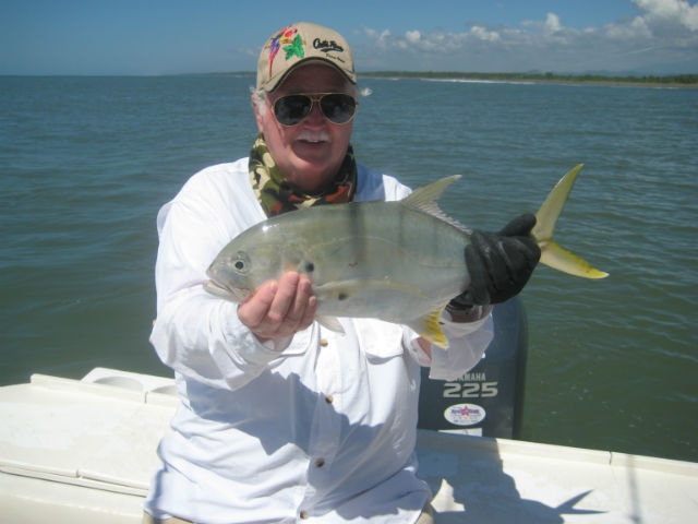 jack fishing in quepos
