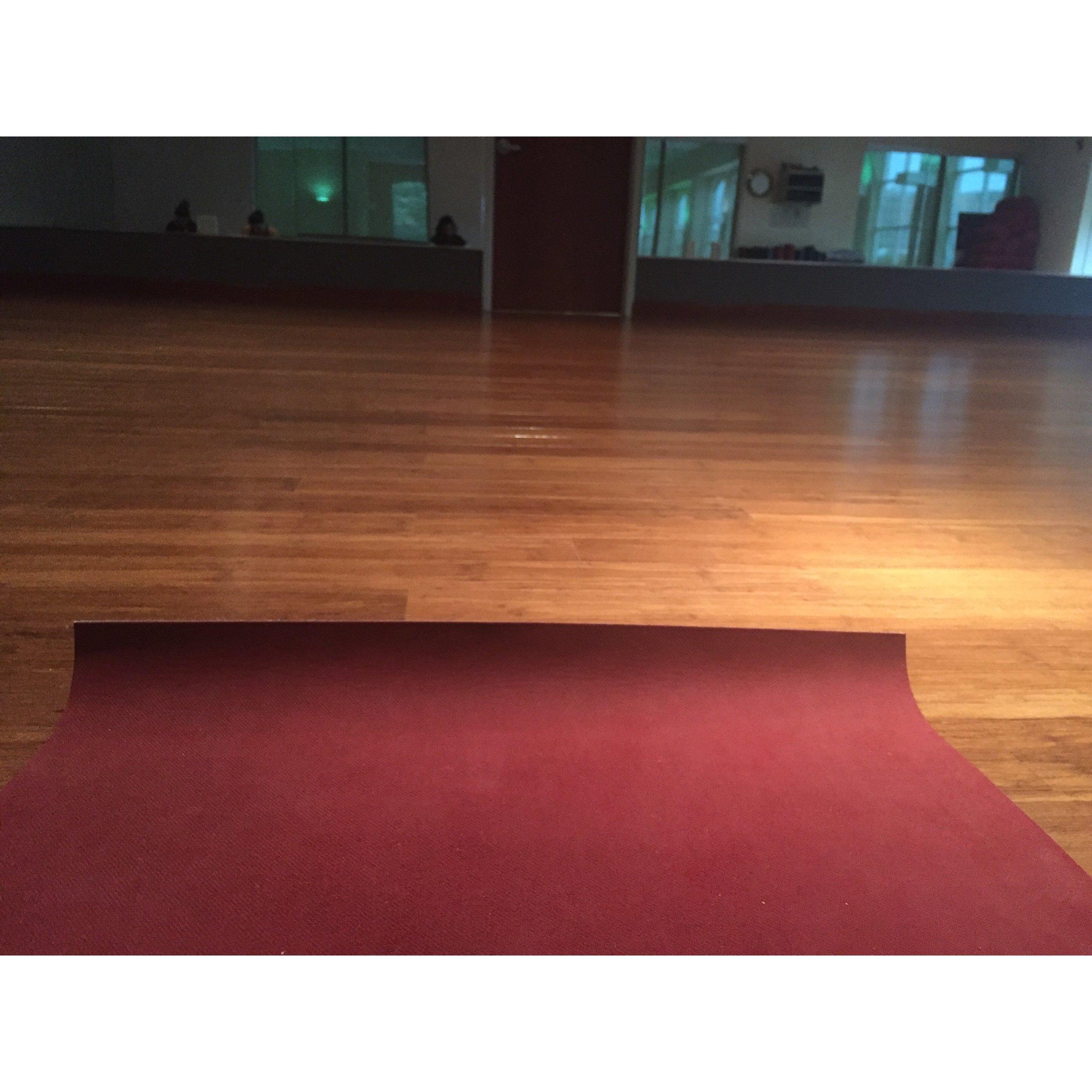 Vinyasa Yoga!  #heatedroom #coldoutside