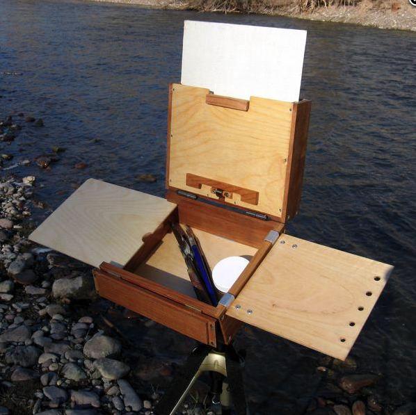 Alla Prima Belly River pochade box