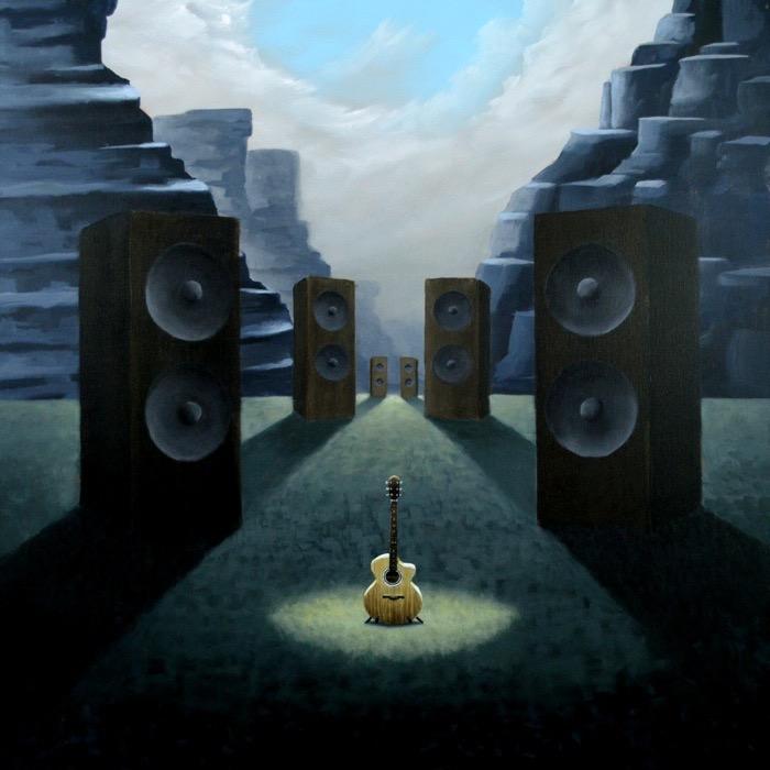 "Soundgarden - 80 x 80 cm / 32"" x 32""  80.000 SEK + 1000 SEK worldwide shipping"