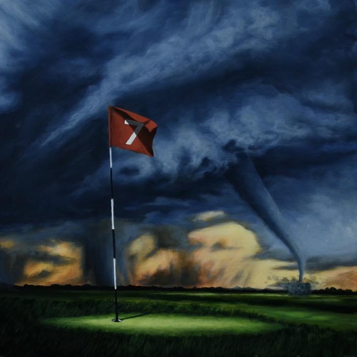 "Here comes the storm XVI - 60 x 60 cm / 24"" x 24""  60.000 SEK = 6 384.9 U.S. dollars"