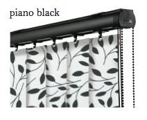 Vogue Slimline Track - Piano Black