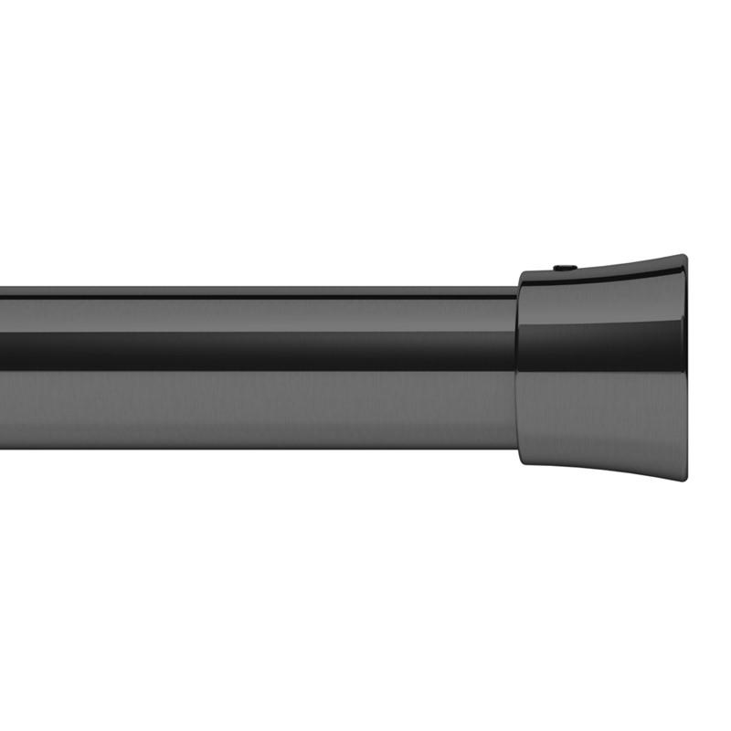 Black Chrome Pole (28mm)