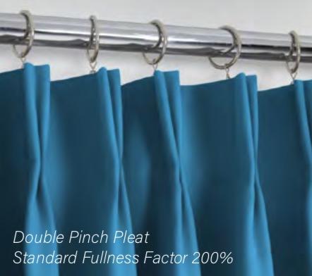Double Pinch Pleat