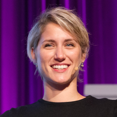 Denise Xifara   - co-founder of  Nupinio   PANEL Social Media + the News