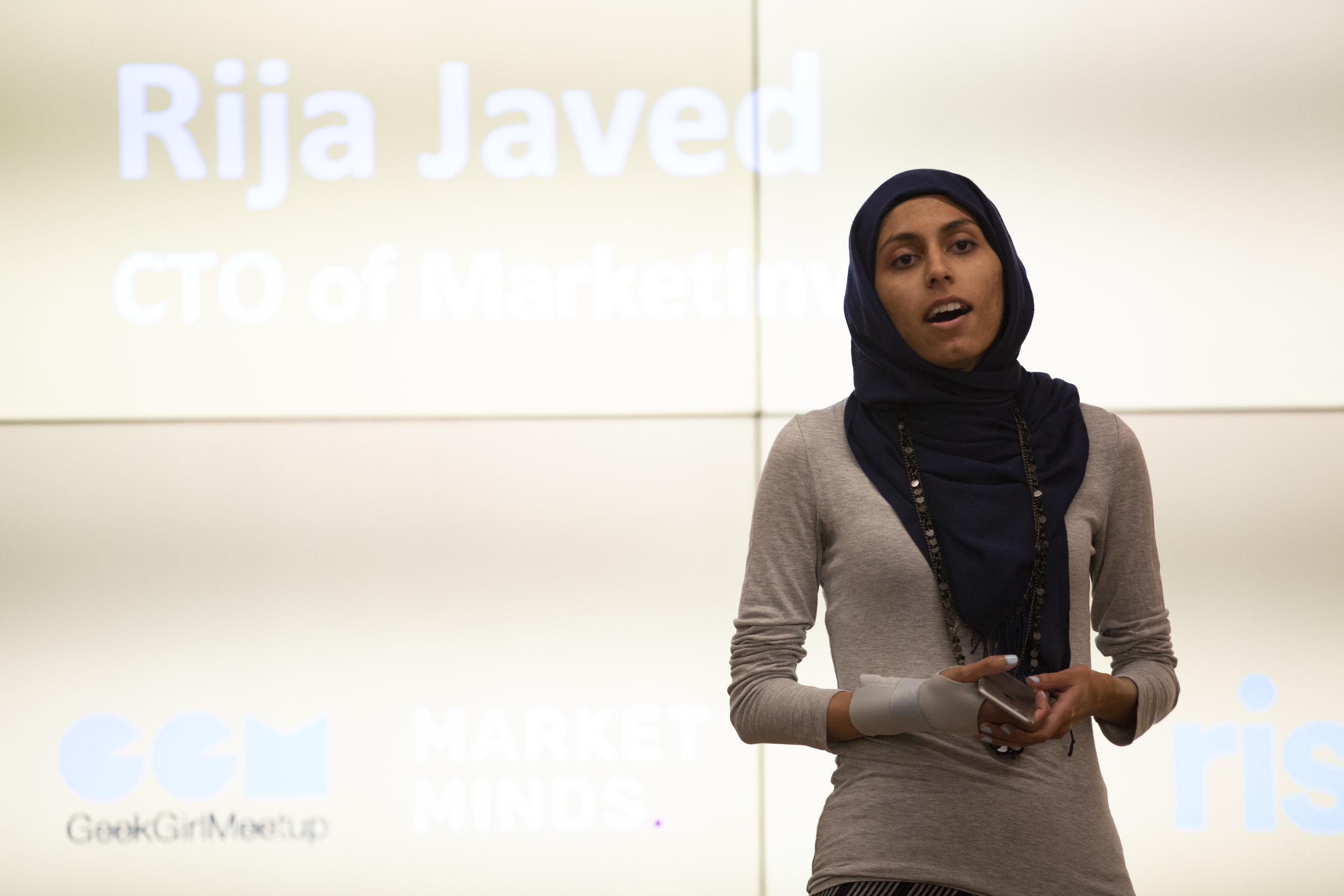 Rija Javed, CTO MarketInvoice