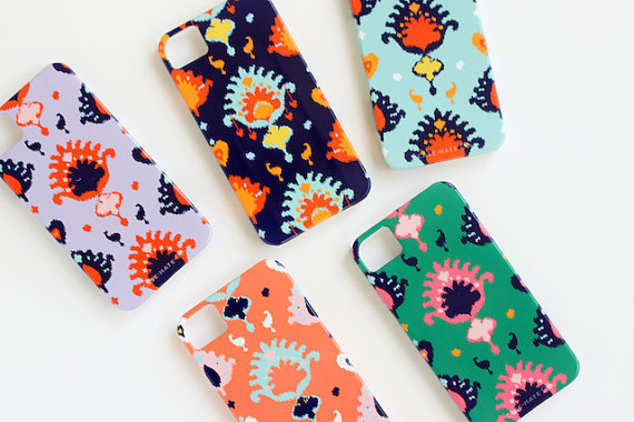 Pencil Shavings Studio iKat Phone Cases