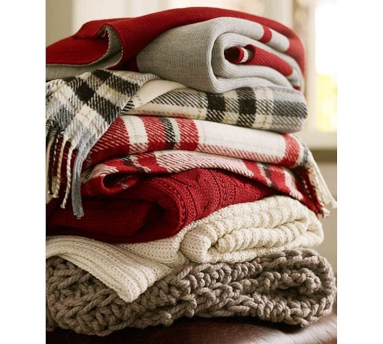 Pottery Barn Breckenridge Throw Collection from 2012