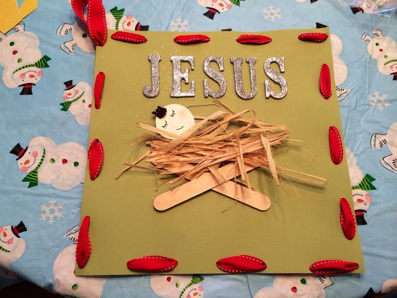 Baby Jesus in the Hay
