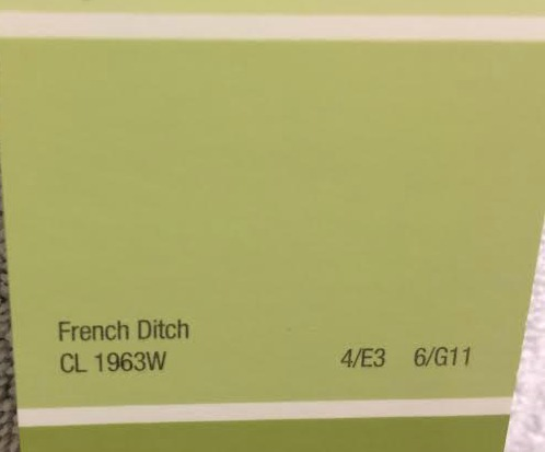 Kwal Brand Paint Color, French Ditch