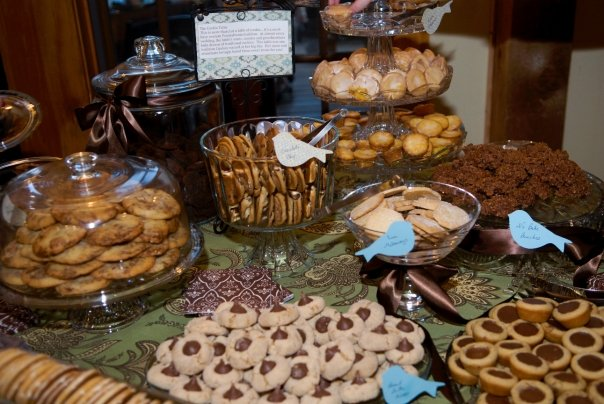 Cookie Table at my wedding